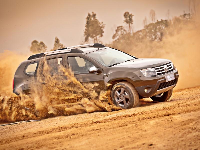 Renault Duster Brazil June 2012.